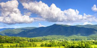 Cades Cove in Great Smoky Mountains National Park