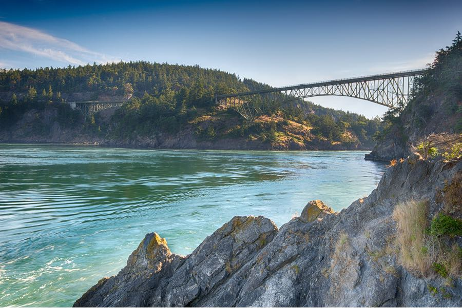 Deception Pass in Washington