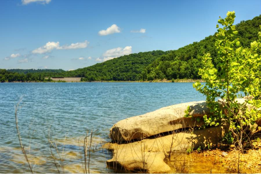 Edgar Evins State Park in Tennessee