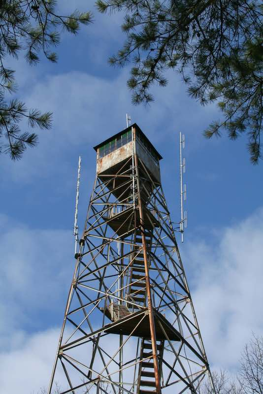 Fire tower at Sam A Baker State Park Missouri