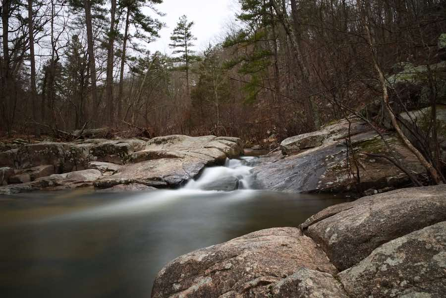 Flowing River in Hawn State Park - Camping in Missouri
