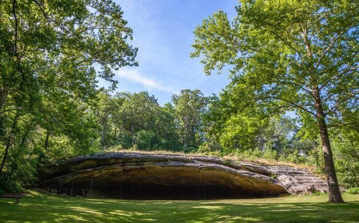 Graham Cave State Park, Missouri