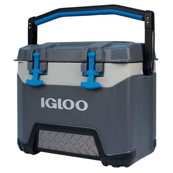 Igloo camping cooler