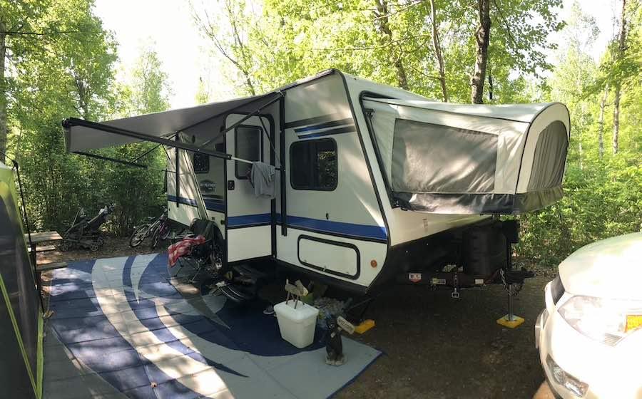 Jayco Hybrid Camping Trailer