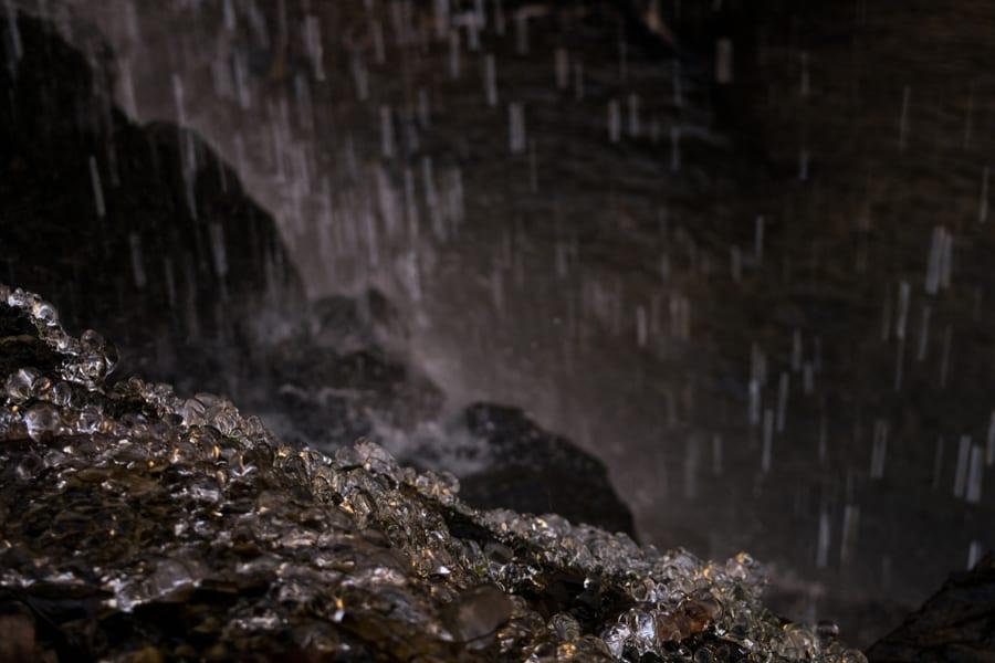 Rain on Rocks nEar Lawrenceburg, Tennessee