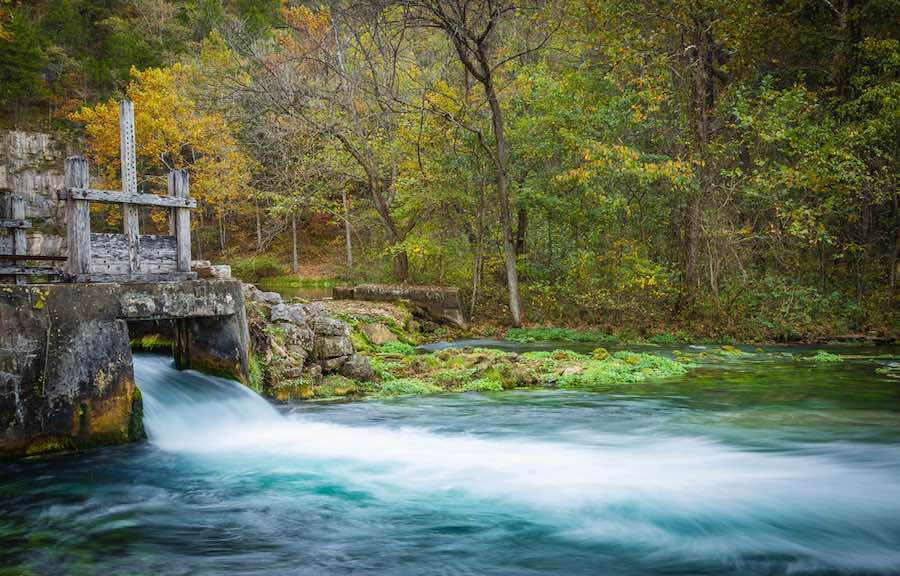 Ozark National Scenic Riverways - Alley Mill
