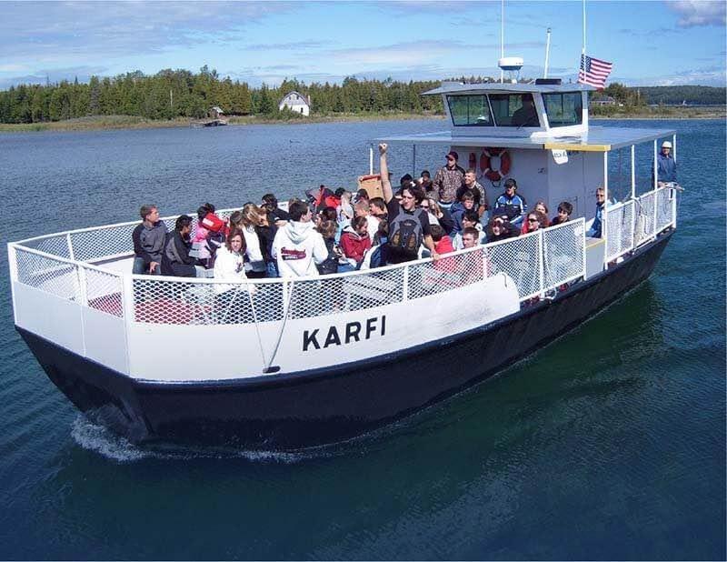 Rock Island Ferry Boat