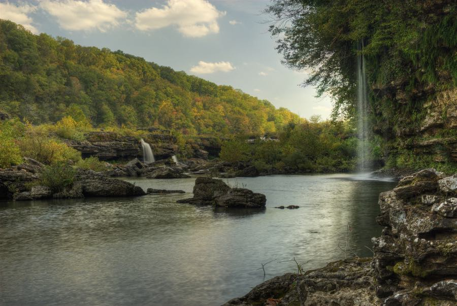 Rock Island State Park in Tennessee