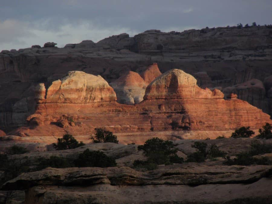 View from Squaw Flat Campground in Canyonlands National Park