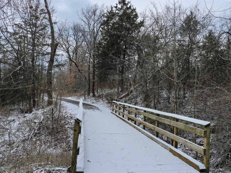 Table Rock State Park, MO in winter.