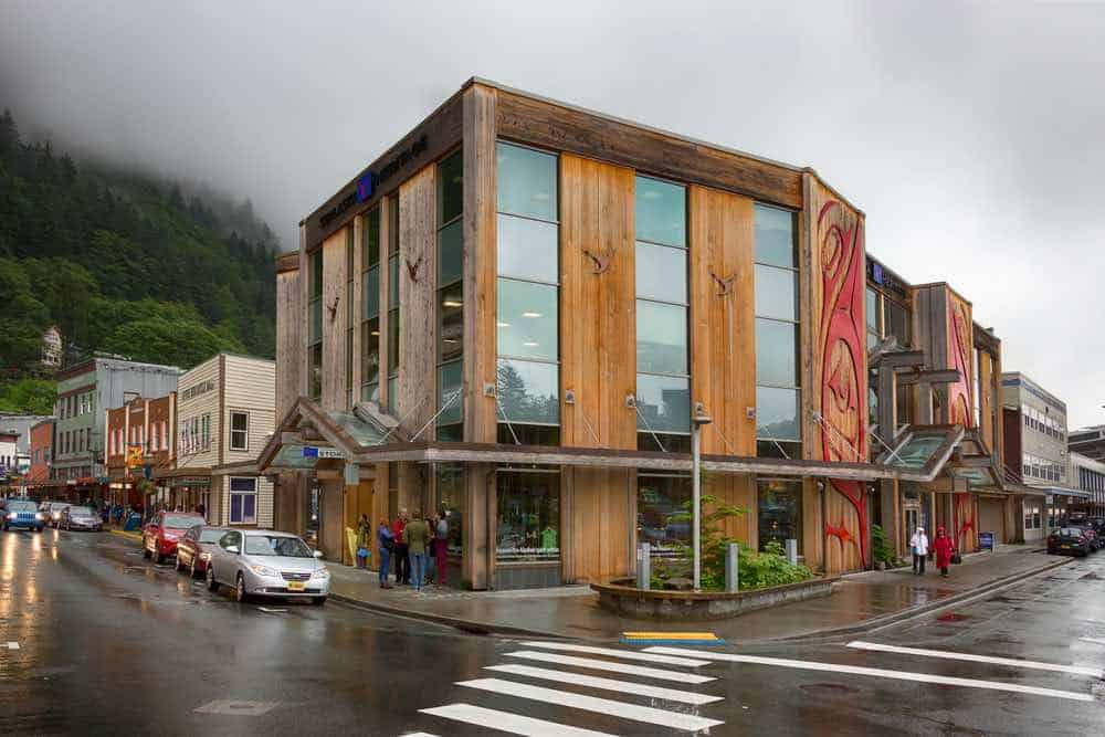 The Sealaska Heritage Store located in the downtown of Juneau.