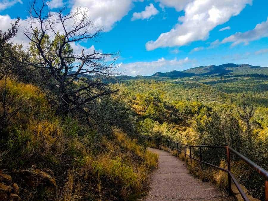 Thumb Butte Trail in Prescott National Forest in Prescott, AZ