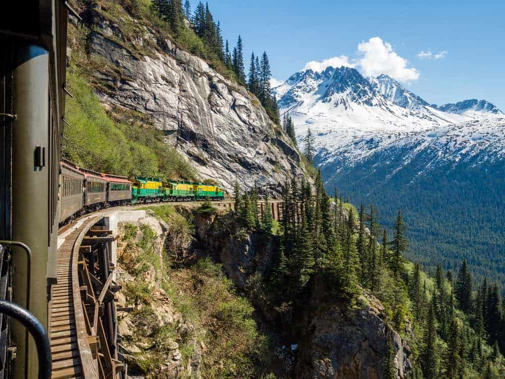 White Pass Train Alaska