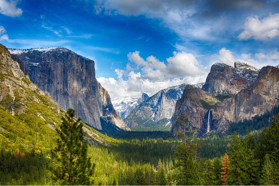 Yosemite Valley in Yosemite National Park