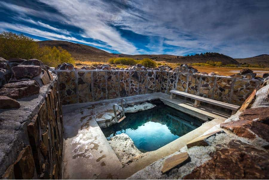 Antelope Natural Hot Springs in Oregon
