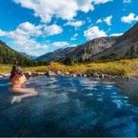 Conundrum Hot Springs in Colorado