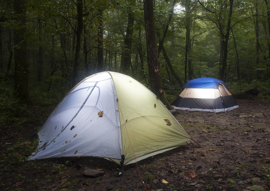 Tent Camping in North Carolina