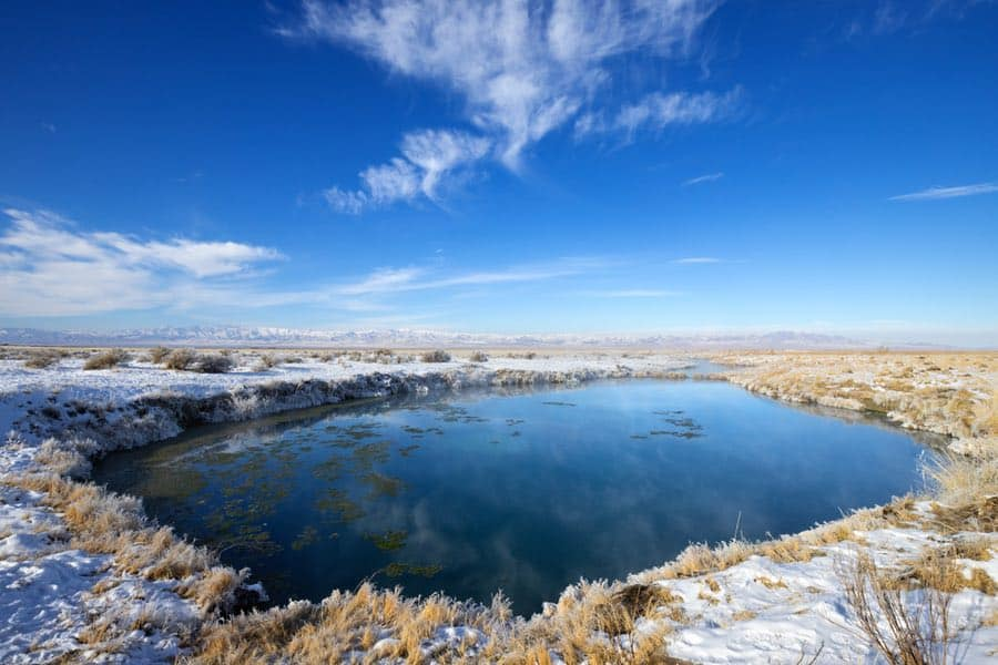 Horseshoe Warm Springs in Utah