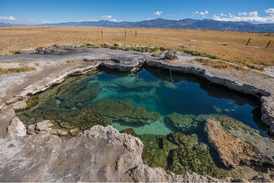 Meadow Hot Springs in Utah