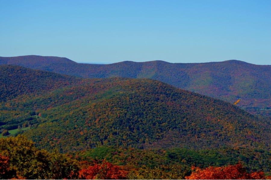 Mount Greylock in Massachusetts