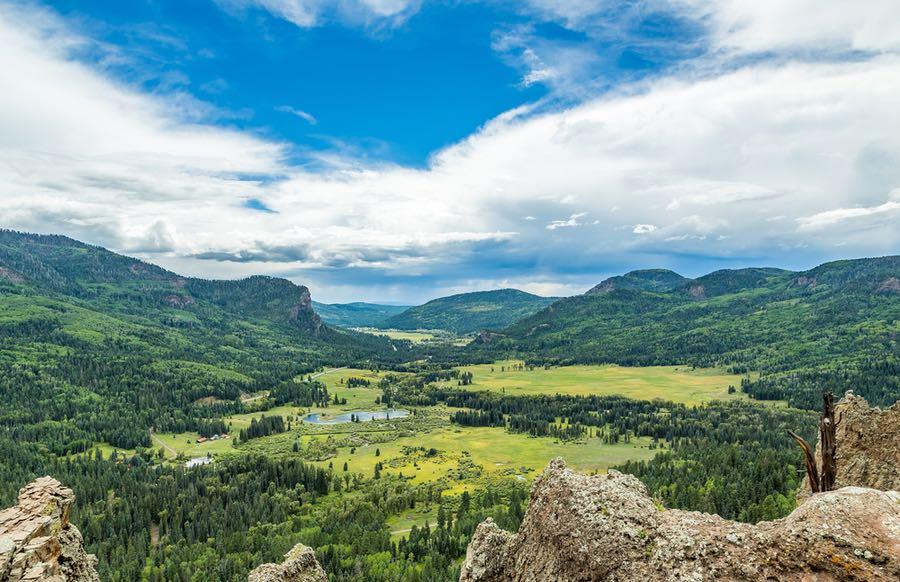 Pagosa Springs in Colorado