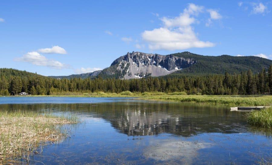 Paulina Lake in Oregon