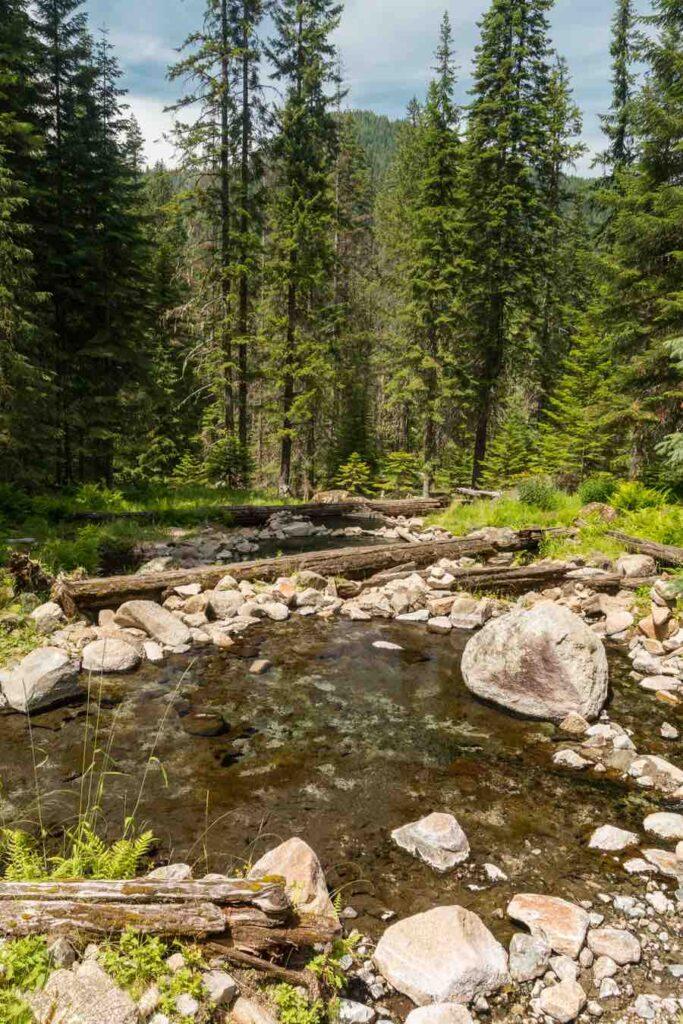 Stanley Natural Hot Springs in Idaho