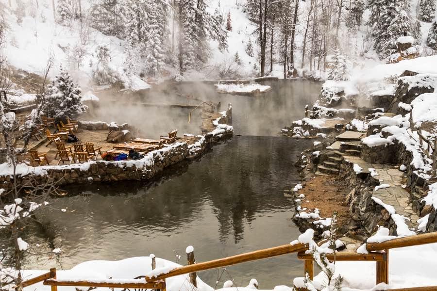 Strawberry Hot Springs in Colorado