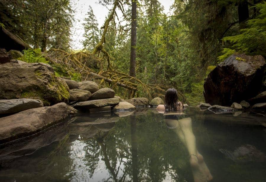 Terwilliger Hot Springs in Oregon