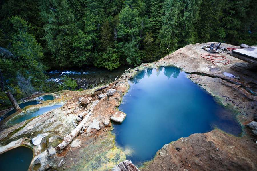 Umpqua Hot Springs in Oregon
