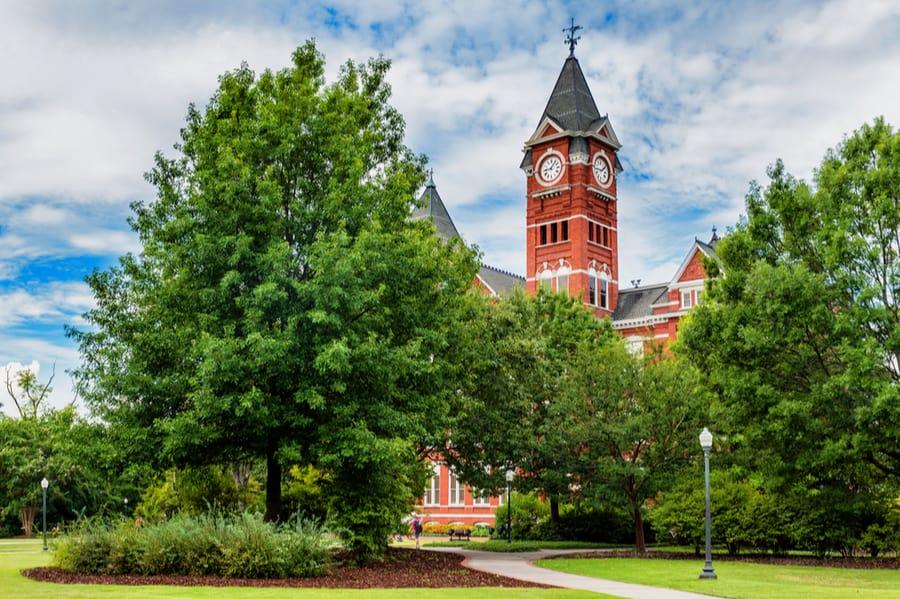 Auburn University in Auburn, Alabama