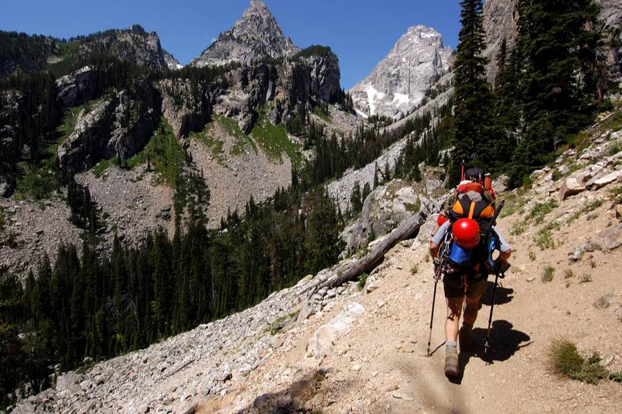 Backpacking in Grand Teton National Park