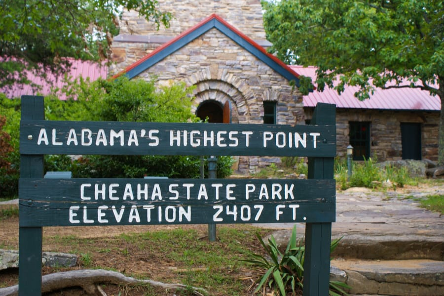 Cheaha State Park in Alabama