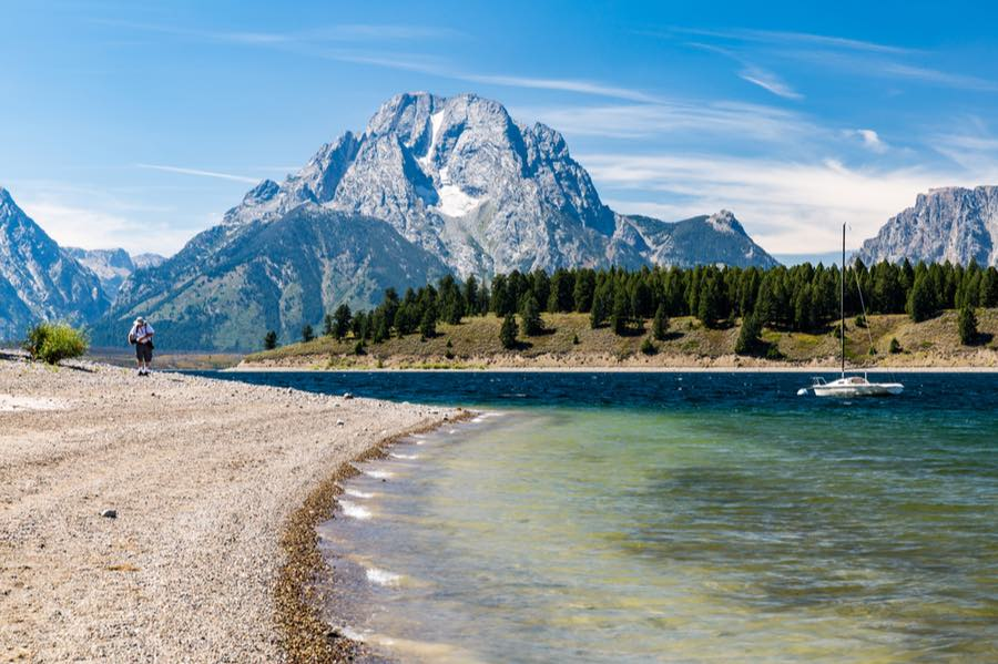 Colter Bay Campground in Grand Teton National Park