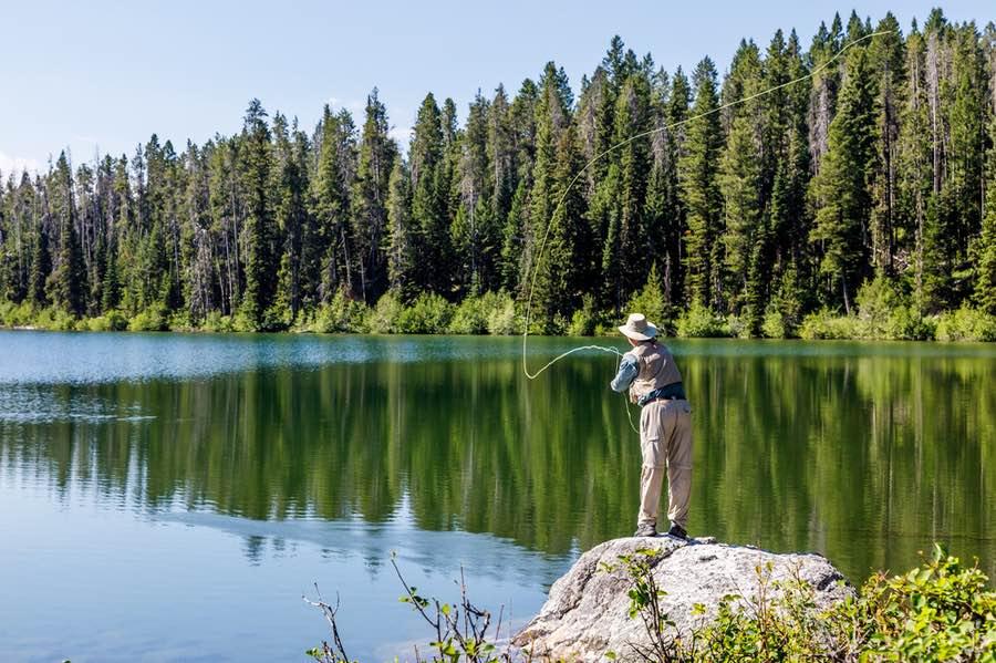 Fishing in Grand Teton National Park