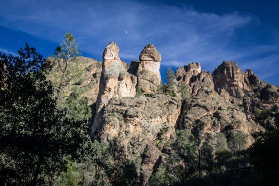 Pinnacles in Pinnacles National Park