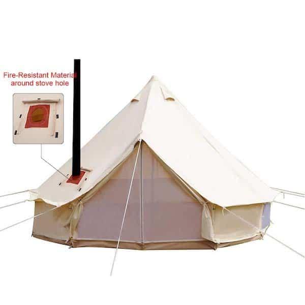 PlayDo 4-Season Bell Tent