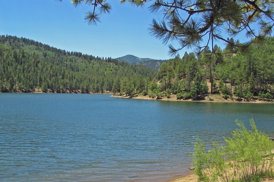 Bonito Lake in New Mexico