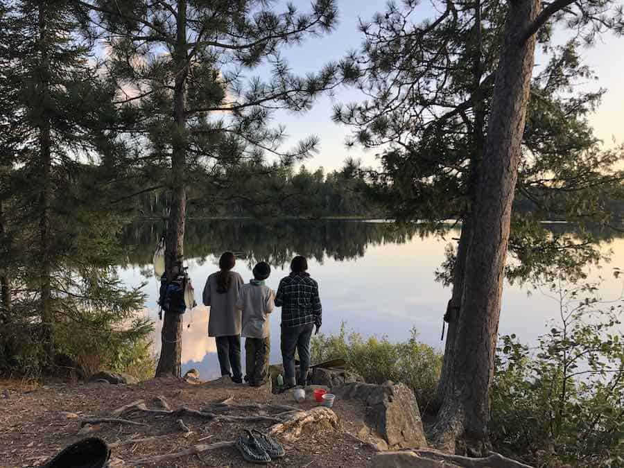Kawishiwi River in the BWCA - Superior National Forest