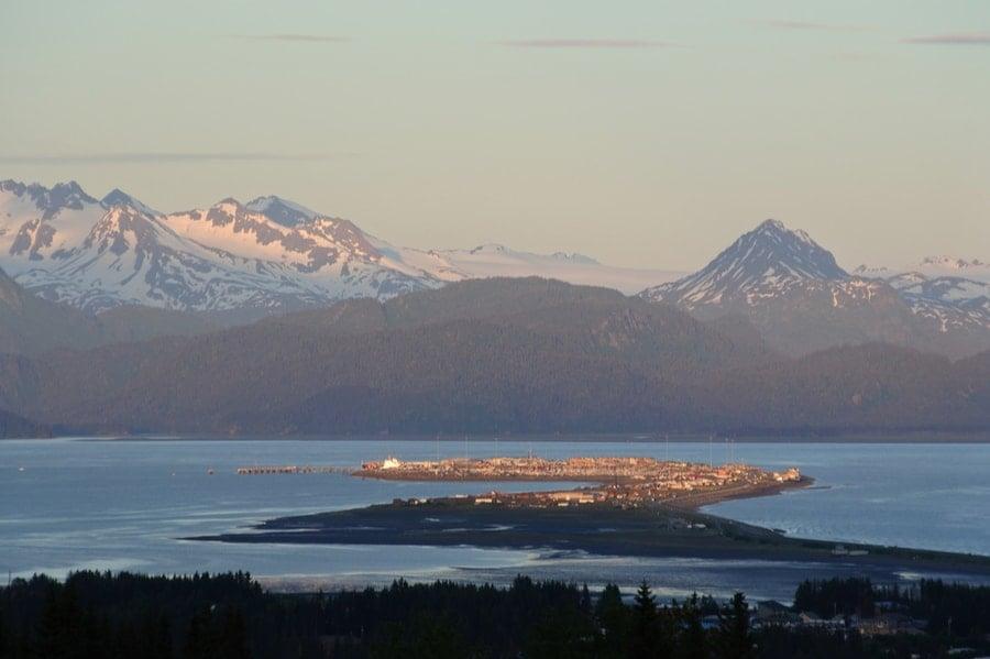 Homer Spit in Alaska