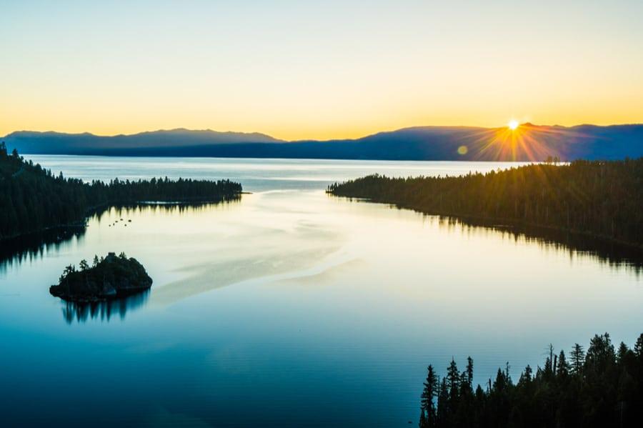 Emerald Bay at South Lake Tahoe