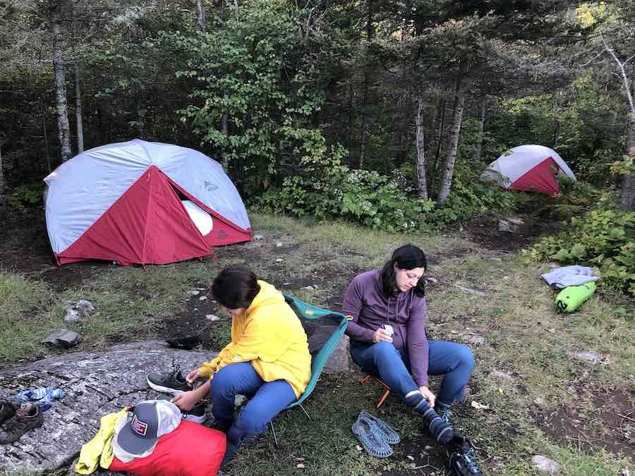 Camping in the BWCA