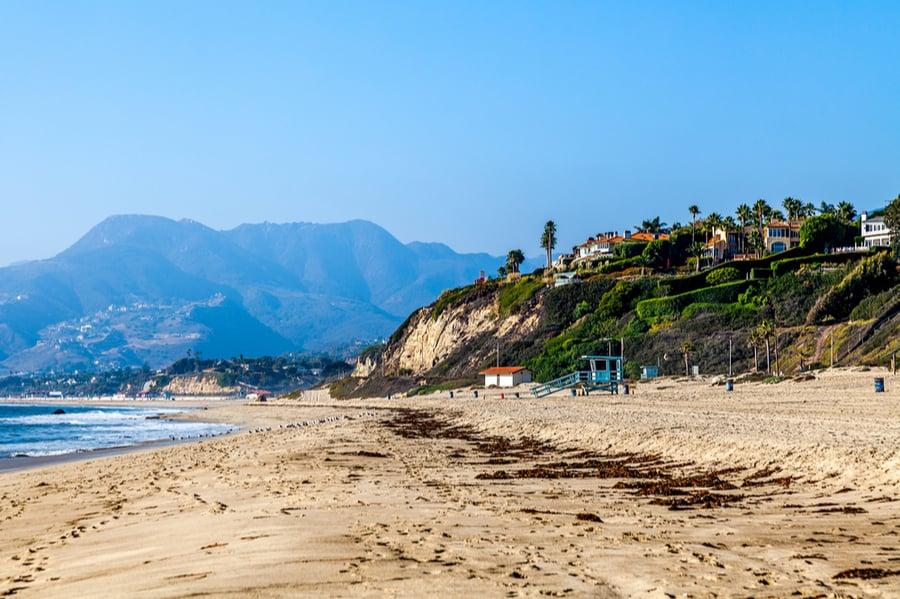 Beach in Malibu, California
