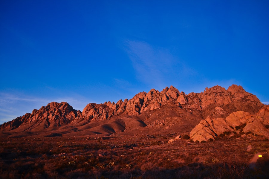 Organ Mountains in New Mexico