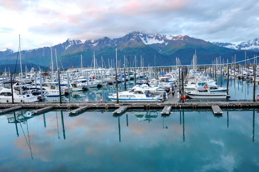Marina at Seward, Alaska