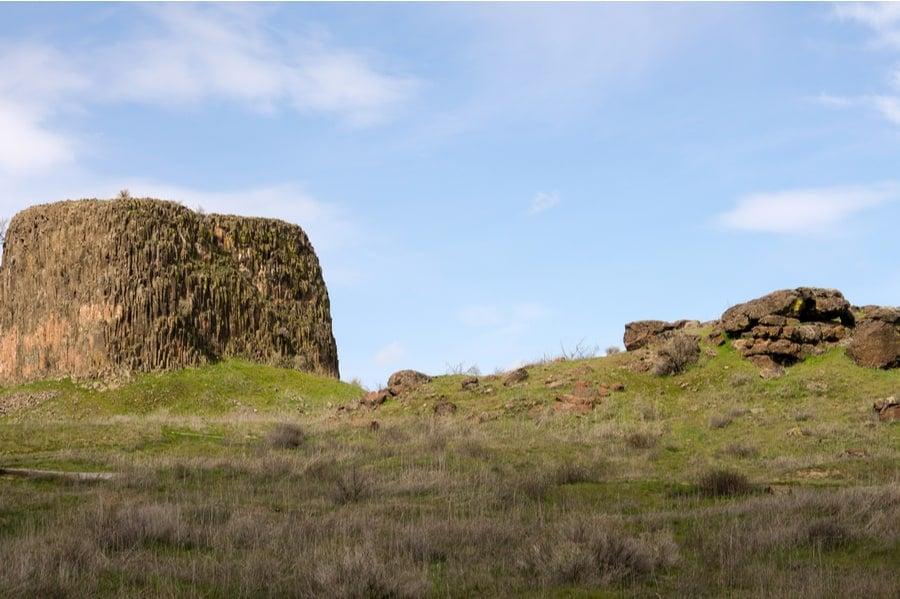 Hat Rock Near Hermiston Oregon