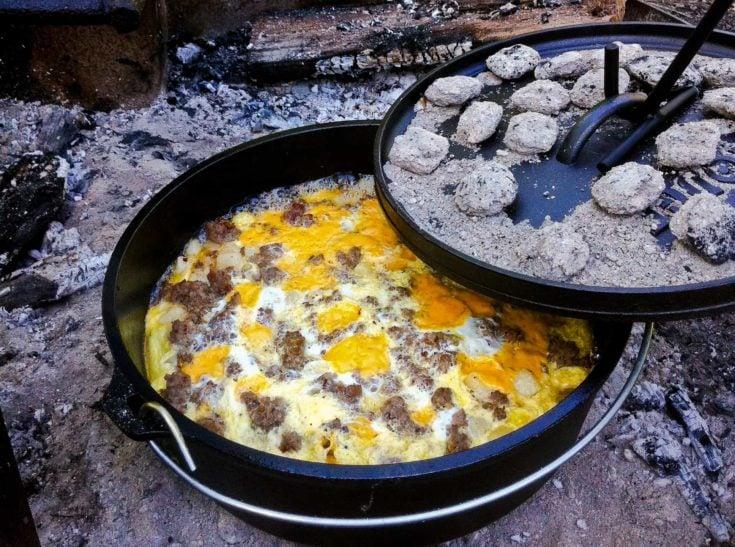 Shenandoah Camping & Campfire Breakfast