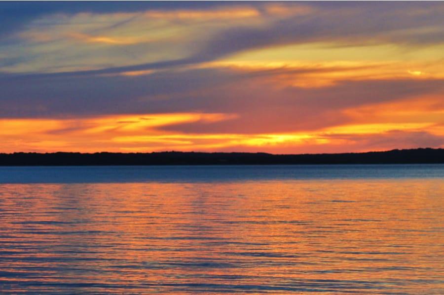 Lake Texoma at Sunset