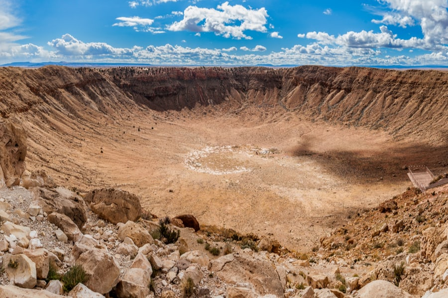 Meteor Crater Near Meteor Crater RV Park in Arizona