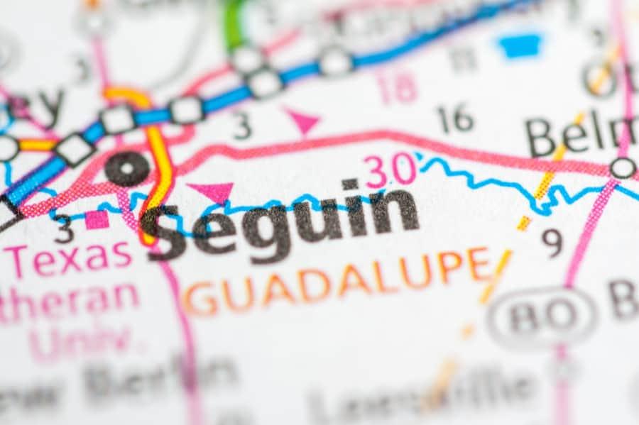 Seguin Texas Map